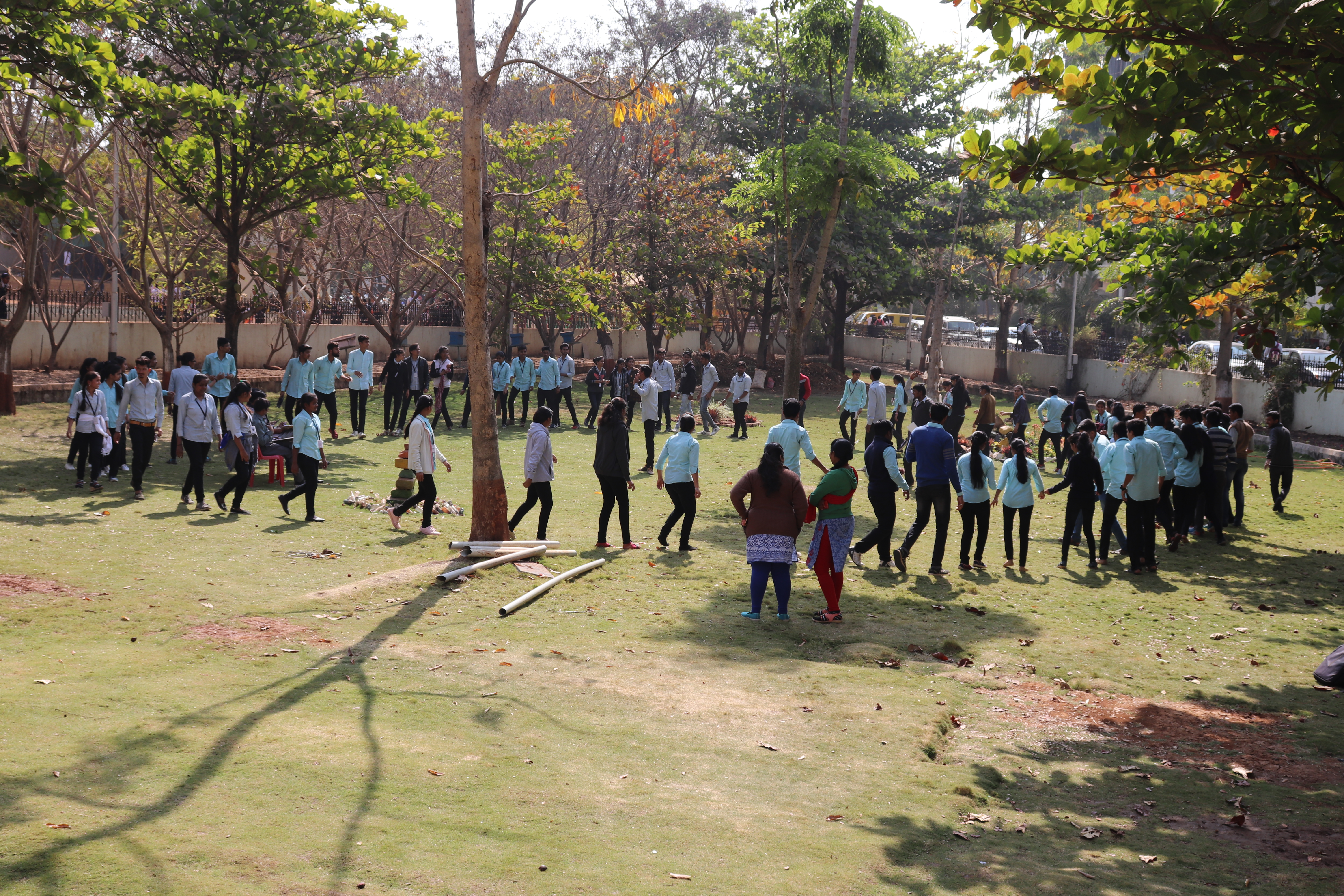 Yuva Manch conducting Management Games to improve Management Skills of Students