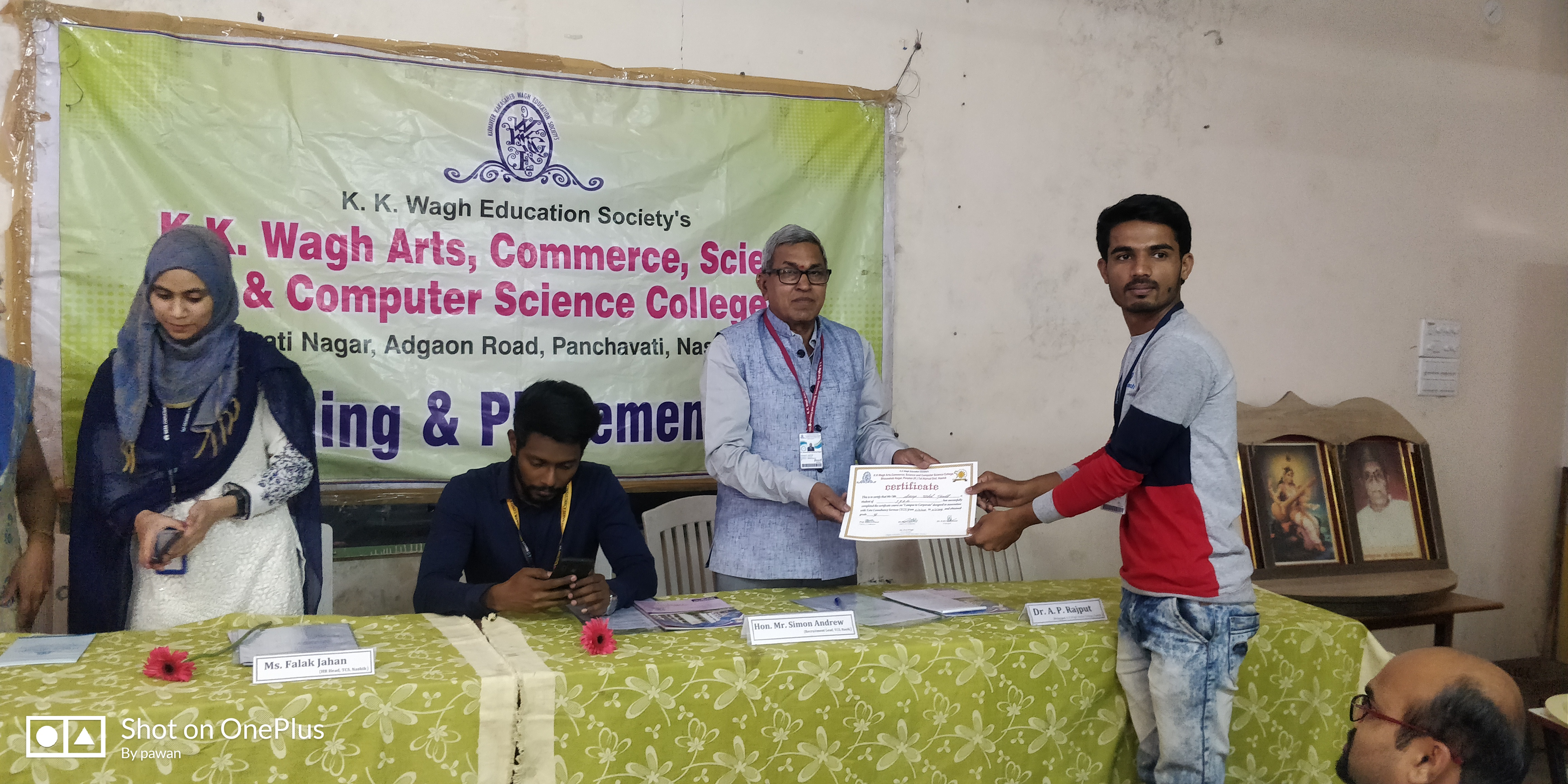 TCS Campus to Corporate Certificate Distribution Program