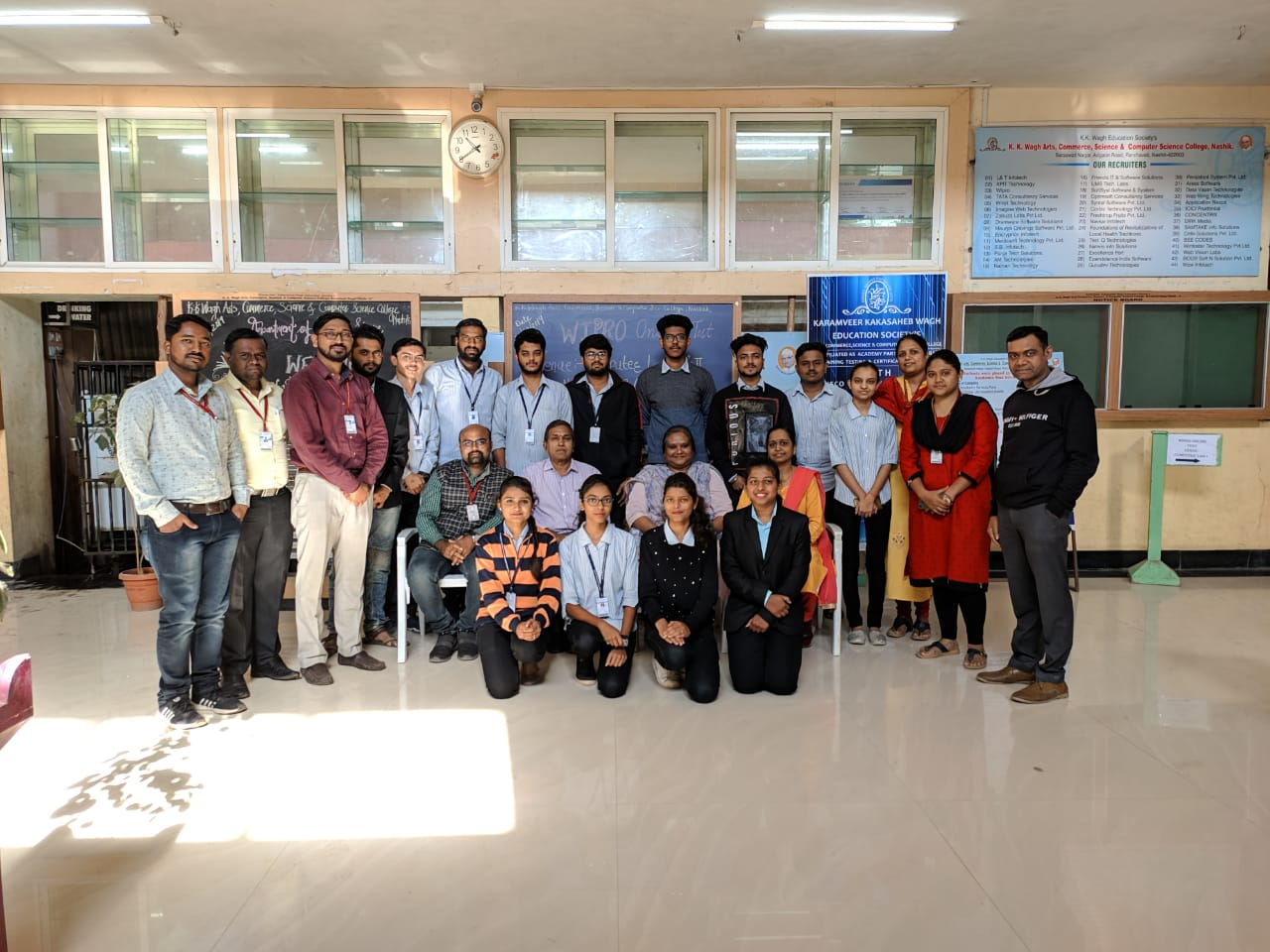 WIPRO campus drive on 13 & 14 Dec 2019